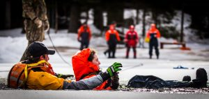 Understanding In-Water Ice Self-Rescue Training at Bark Lake Leadership and Conference Centre