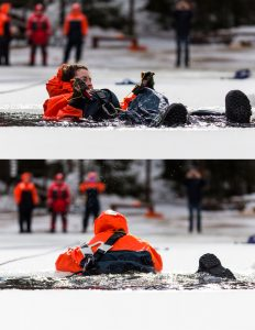 Understanding In-Water Ice Self-Rescue Training