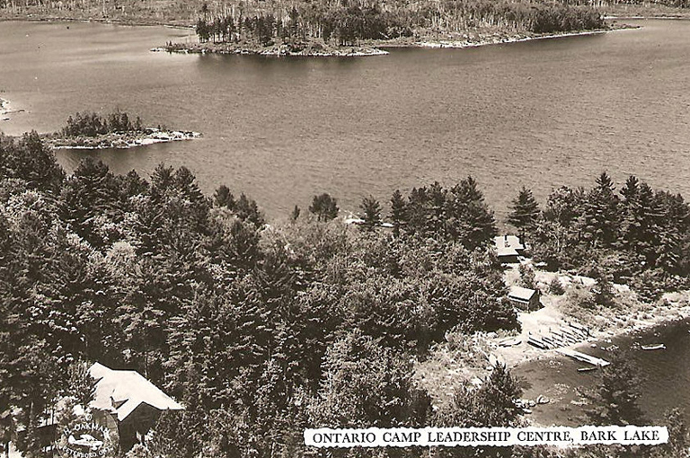 Bark Lake Leadership Centre 1958