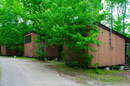 Maple Cabins at Bark Lake Leadership Centre