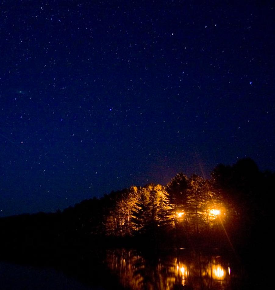 Night Hike at Bark Lake Leadership Centre