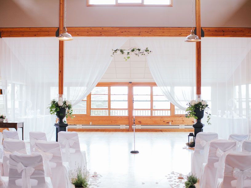 Weddings at Bark Lake Leadership Centre