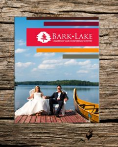 wedding programs at Bark Lake