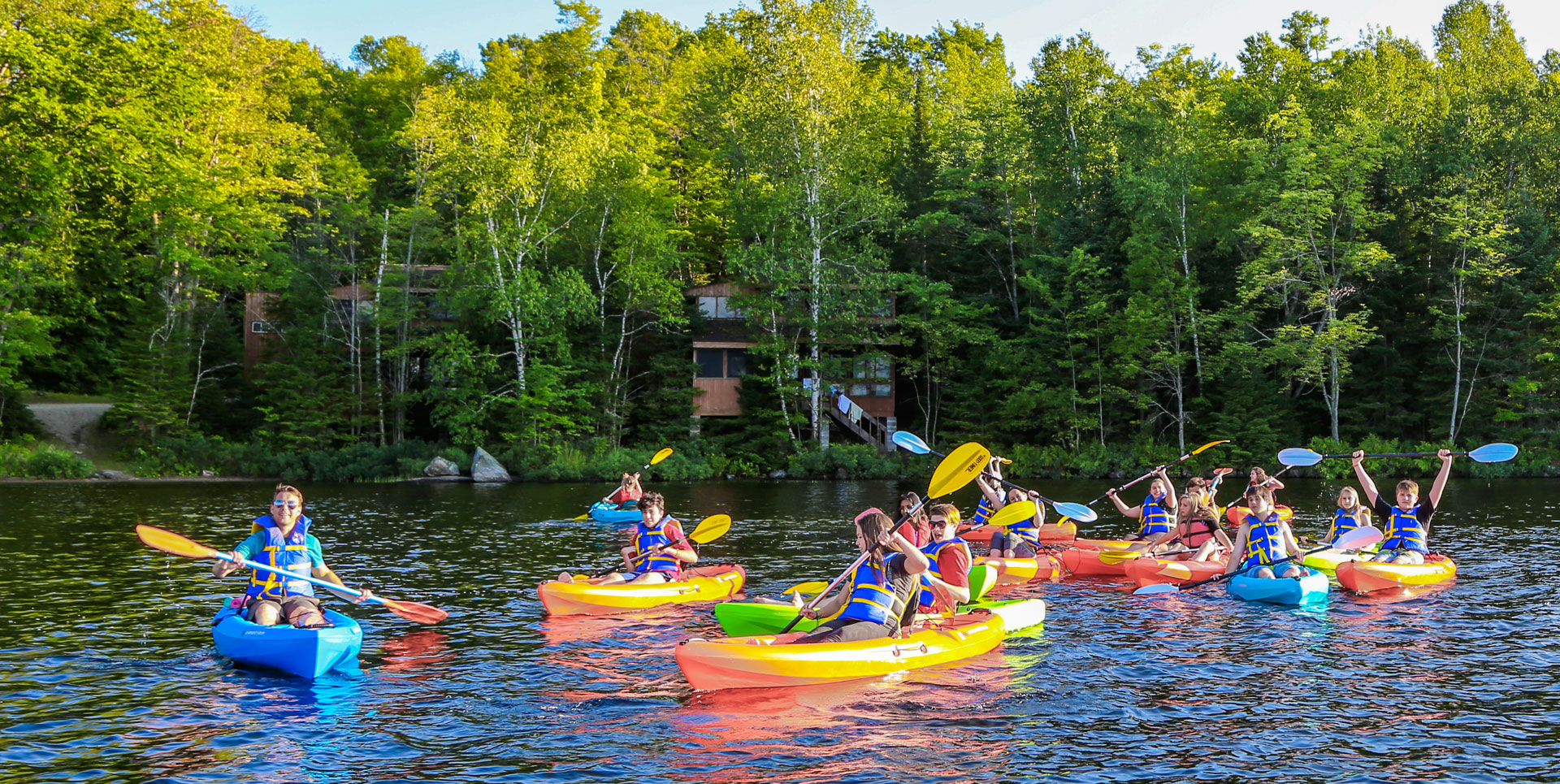 Kayak Courses at Bark Lake Leadership and Conference Centre